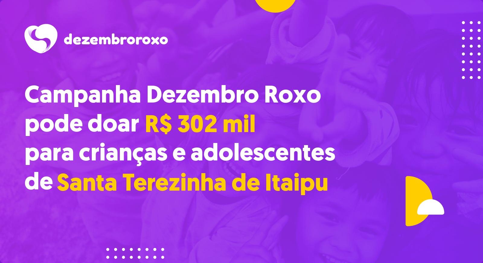 Doações em Santa Terezinha de Itaipu - PR