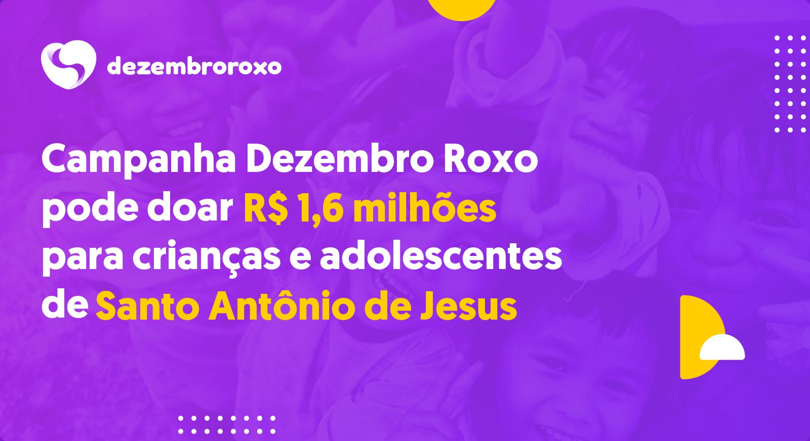 Doações em Santo Antônio de Jesus - BA