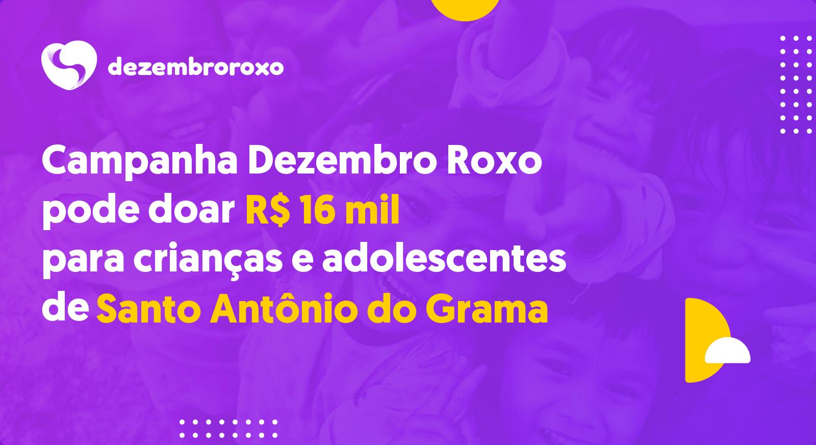 Doações em Santo Antônio do Grama - MG