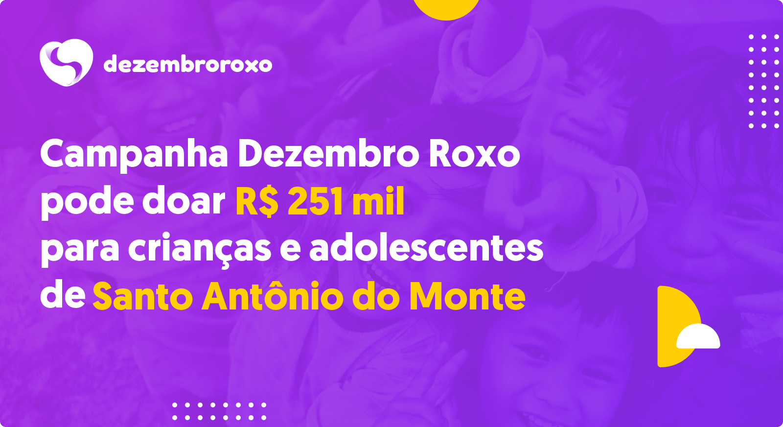 Doações em Santo Antônio do Monte - MG