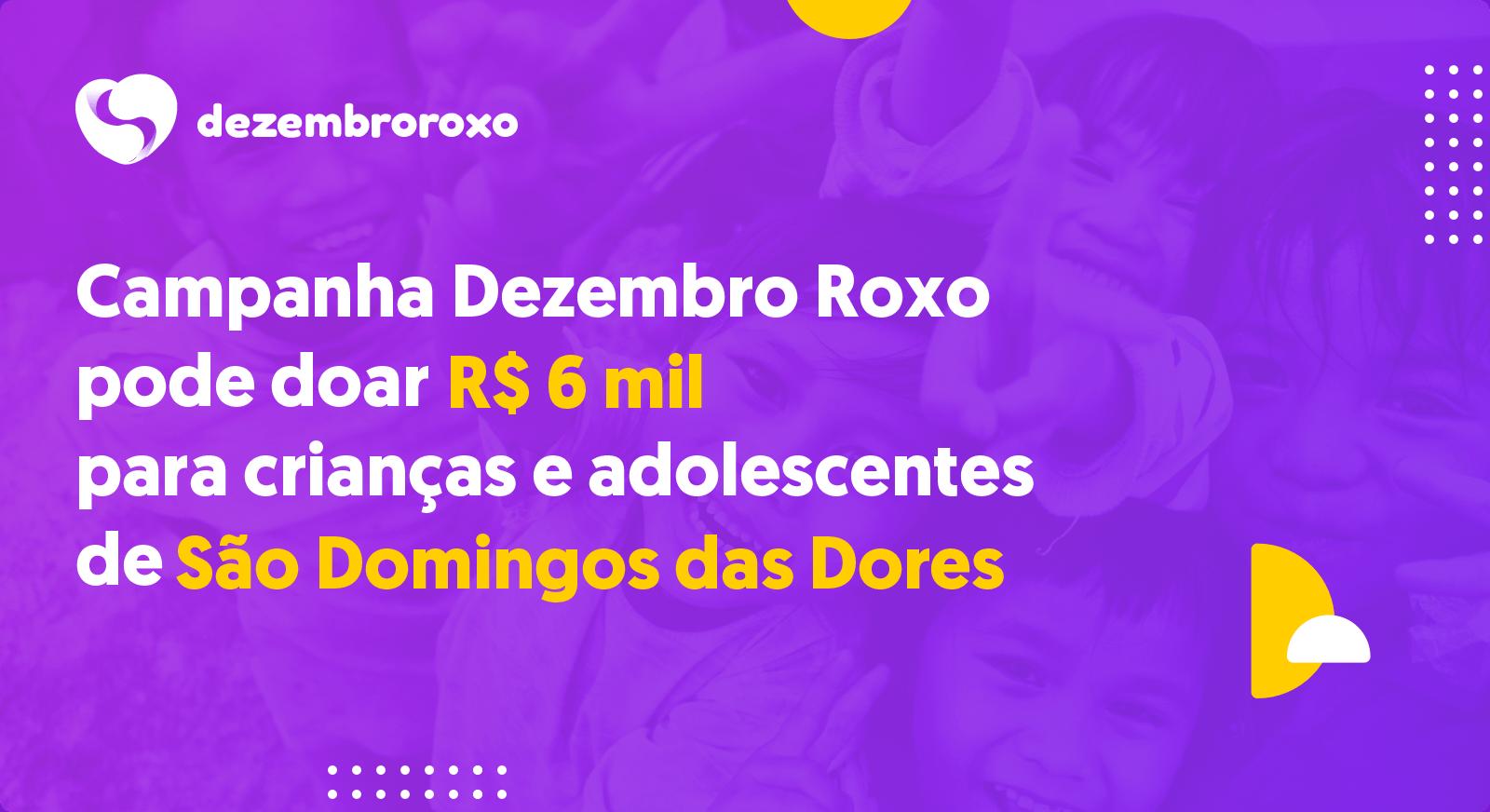 Doações em São Domingos das Dores - MG