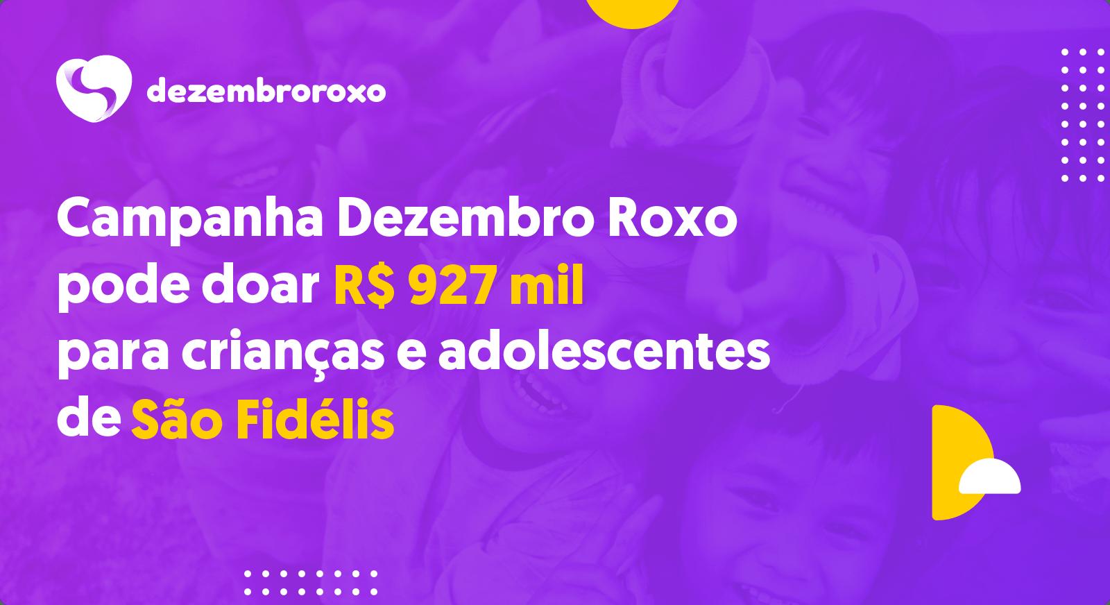 Doações em São Fidélis - RJ