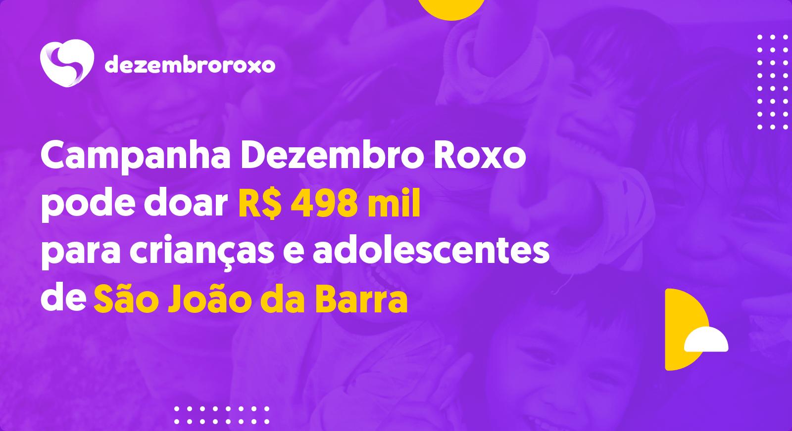 Doações em São João da Barra - RJ