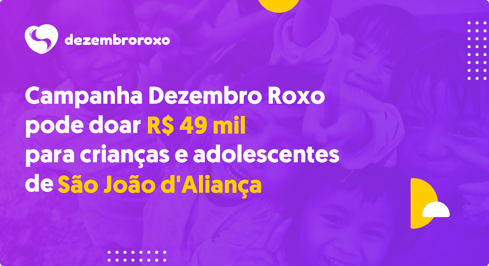 Doações em São João d'Aliança - GO
