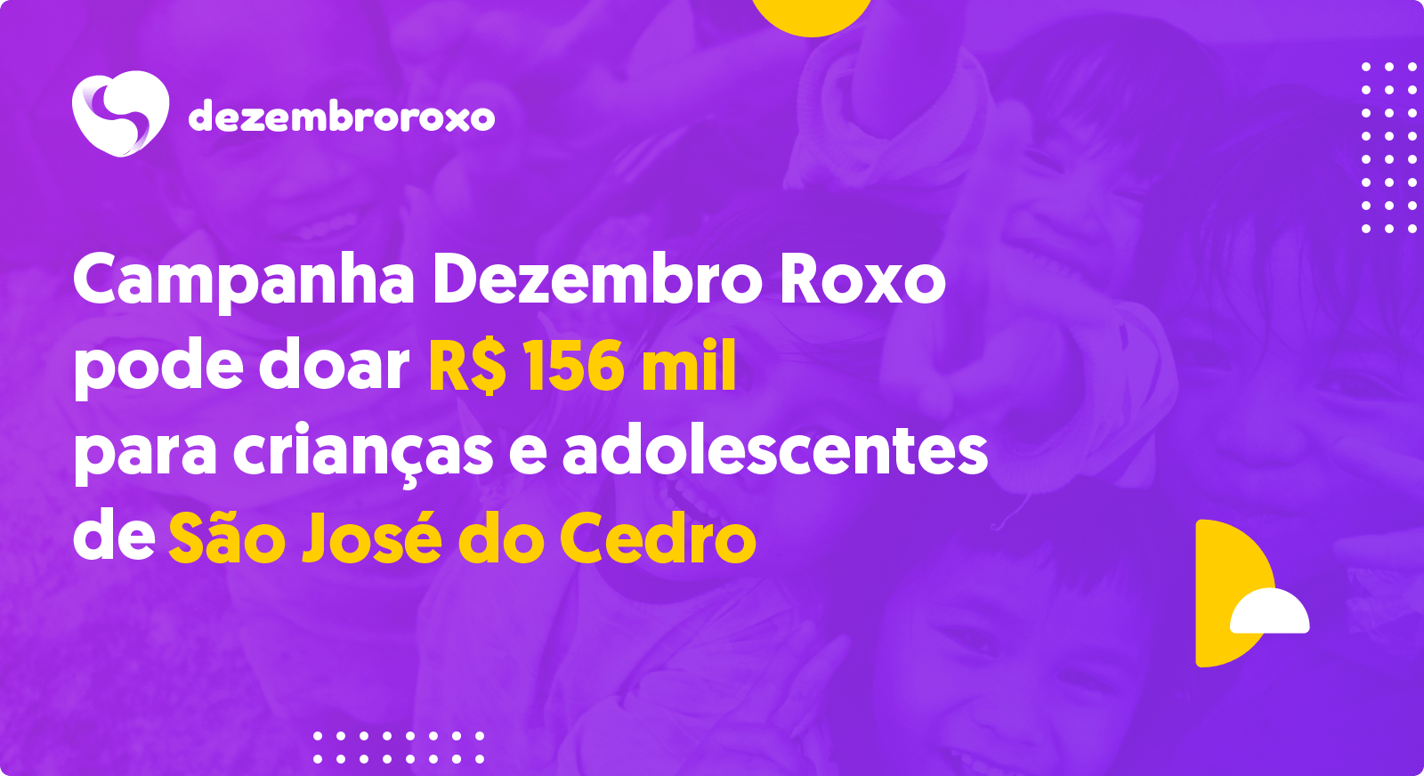 Doações em São José do Cedro - SC