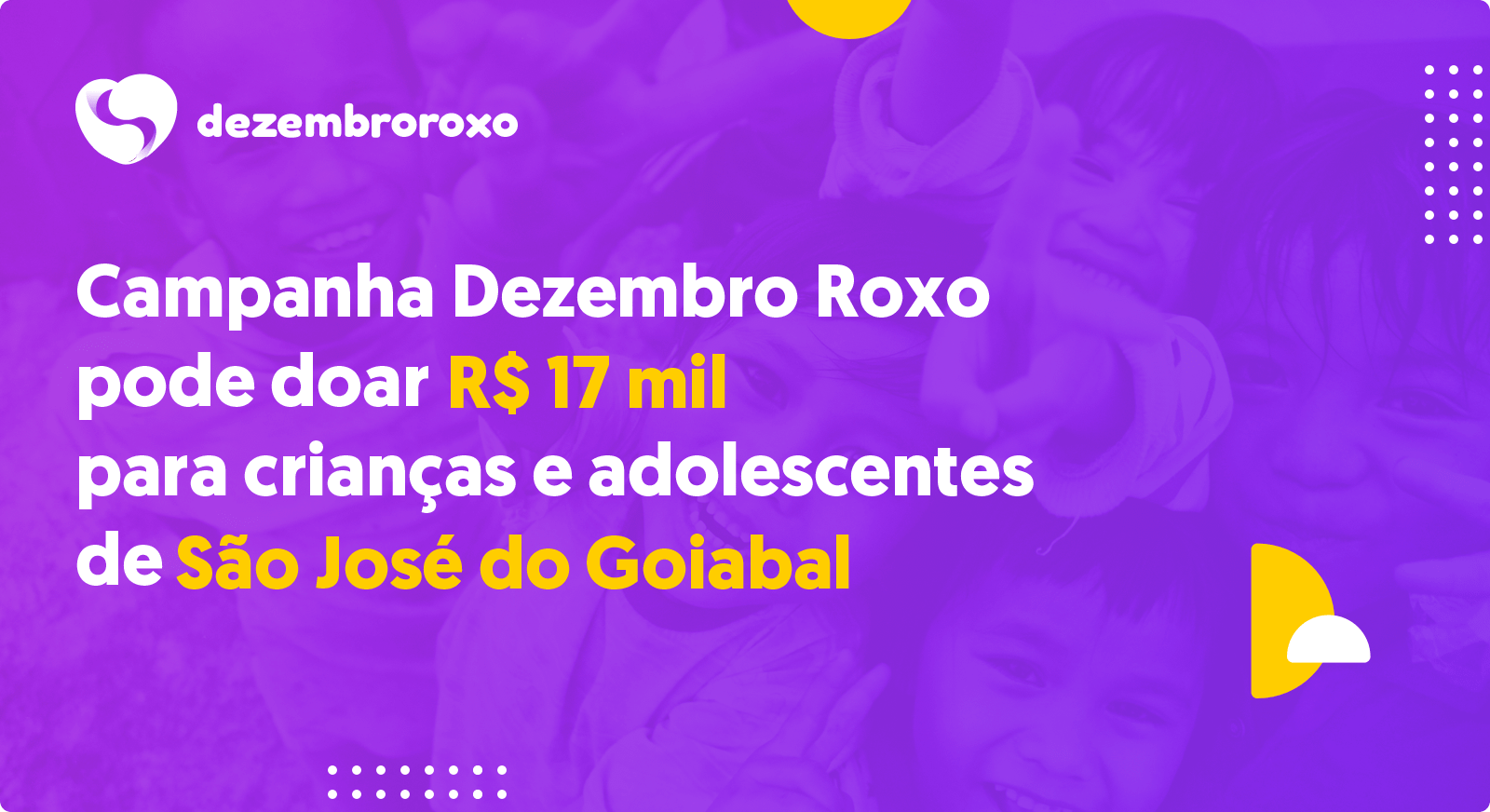 Doações em São José do Goiabal - MG
