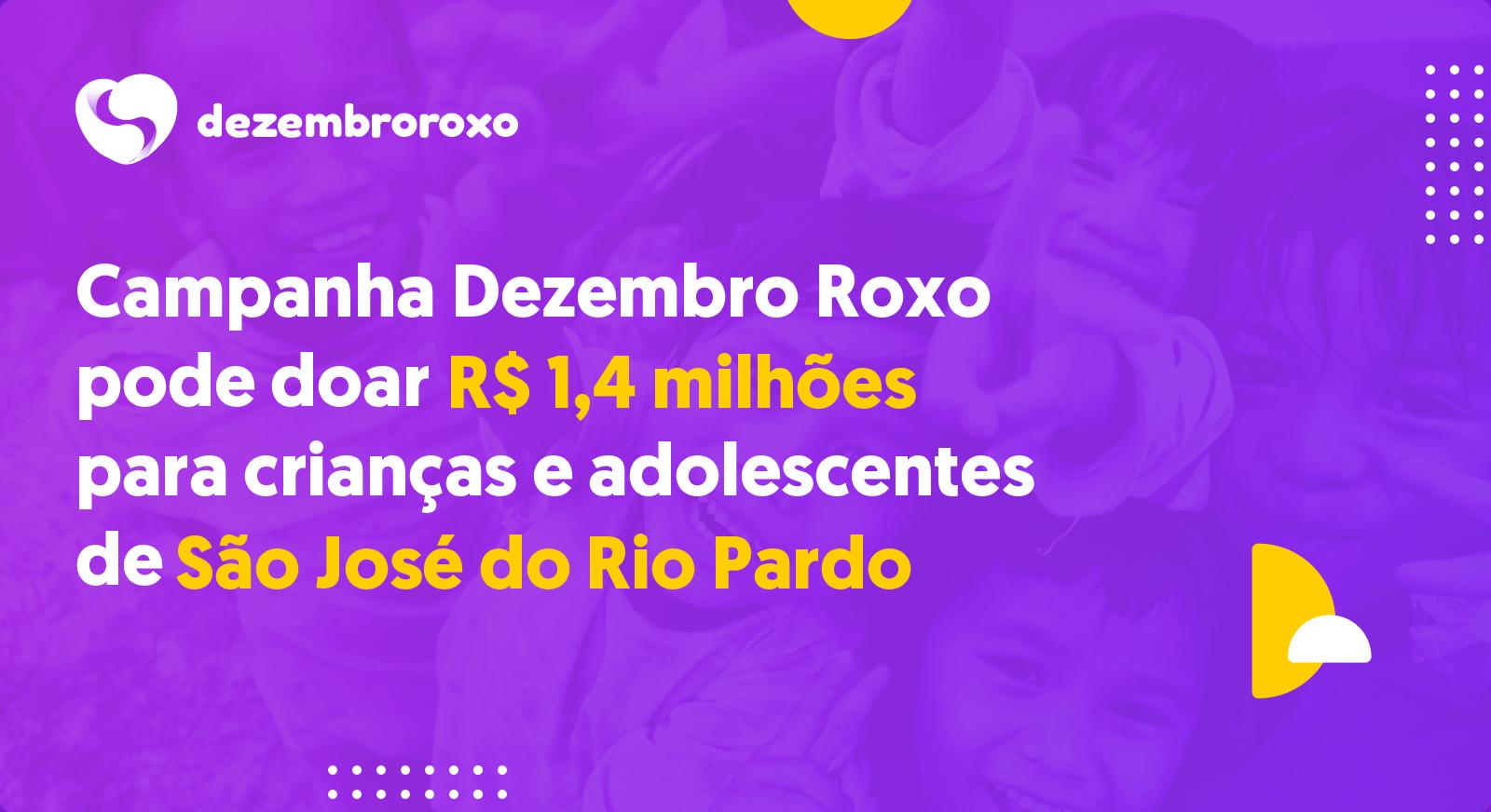 Doações em São José do Rio Pardo - SP