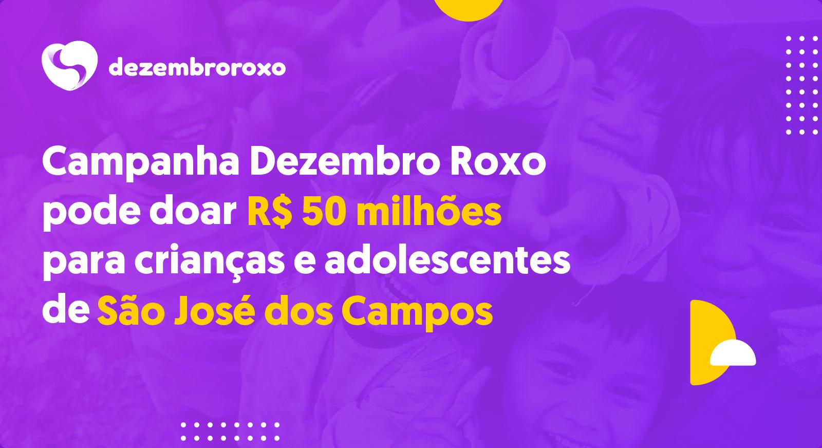 Doações em São José dos Campos - SP
