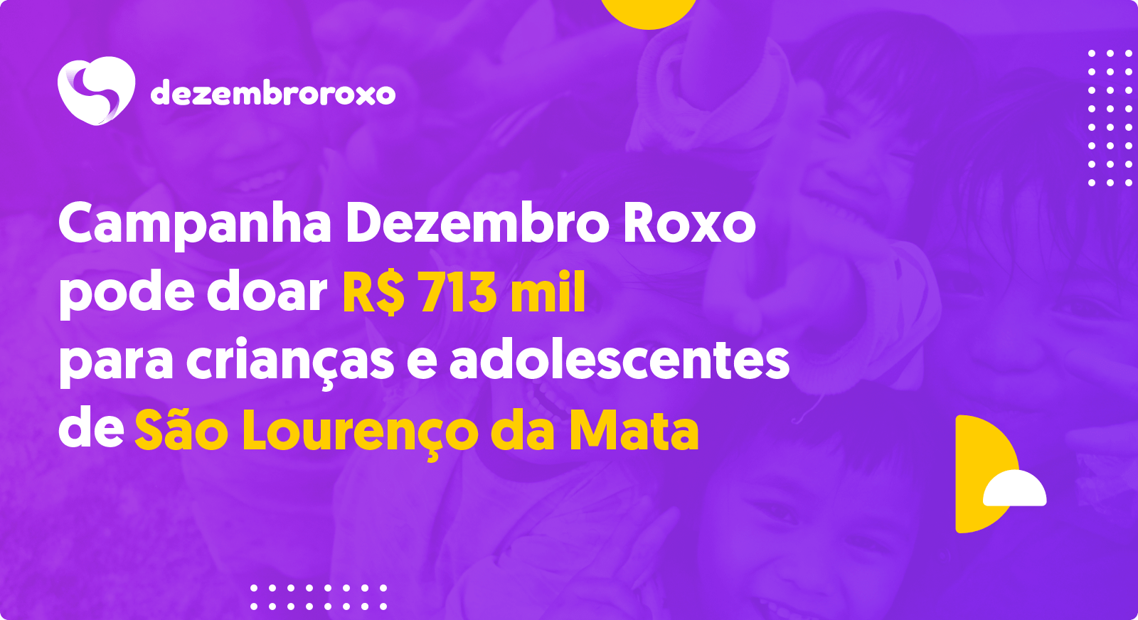 Doações em São Lourenço da Mata - PE