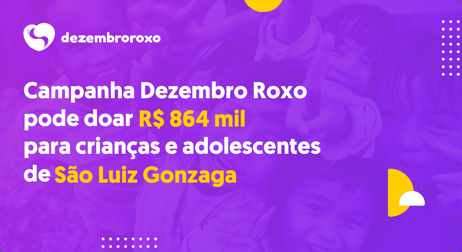 Doações em São Luiz Gonzaga - RS