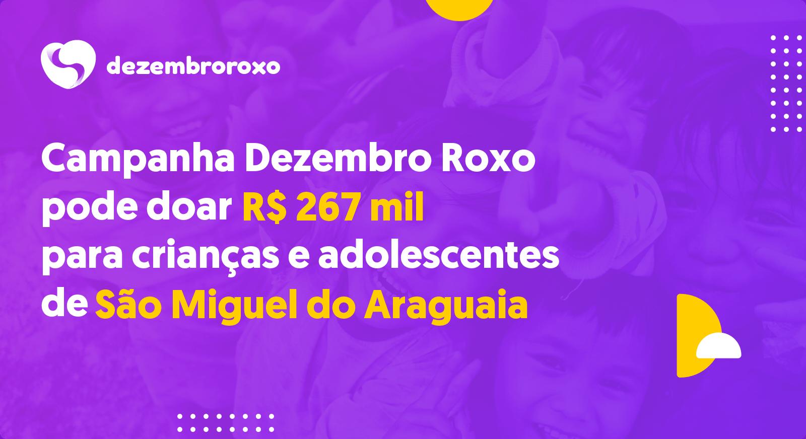 Doações em São Miguel do Araguaia - GO