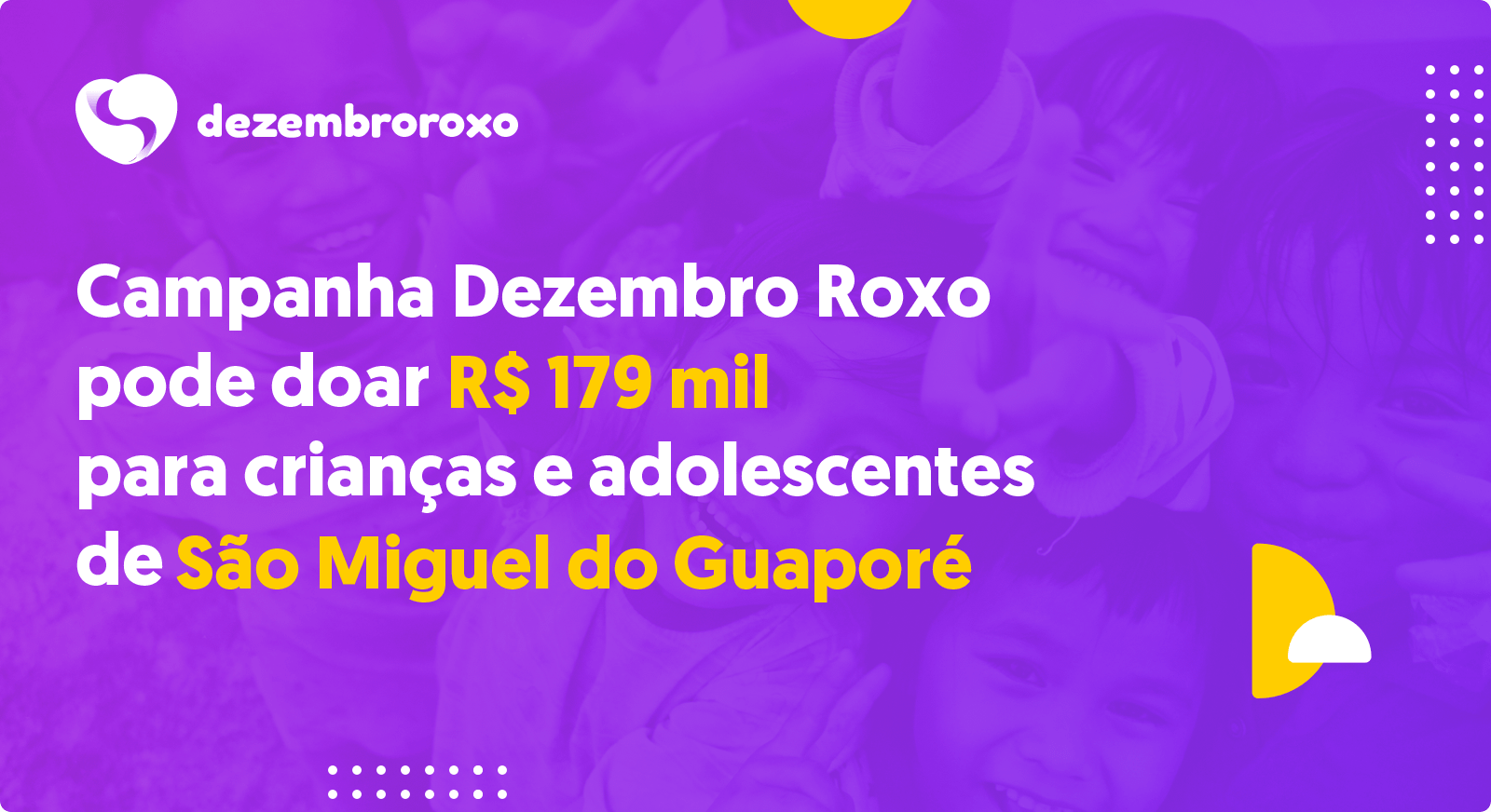Doações em São Miguel do Guaporé - RO