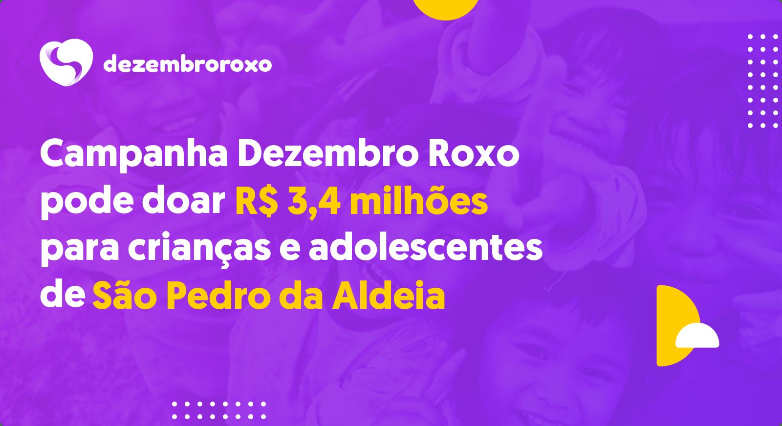 Doações em São Pedro da Aldeia - RJ