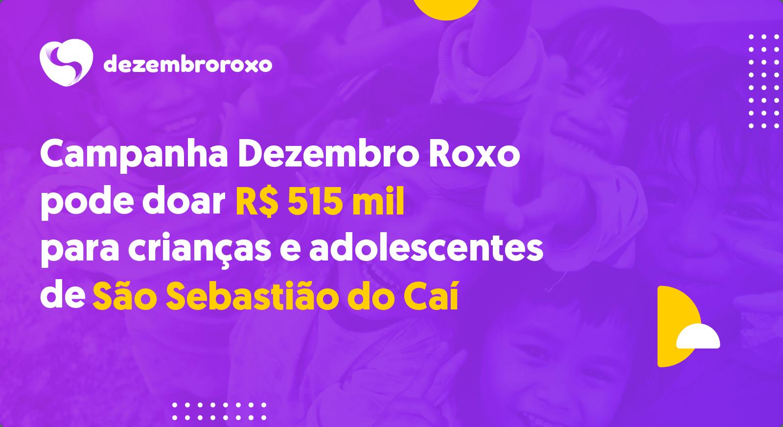 Doações em São Sebastião do Caí - RS