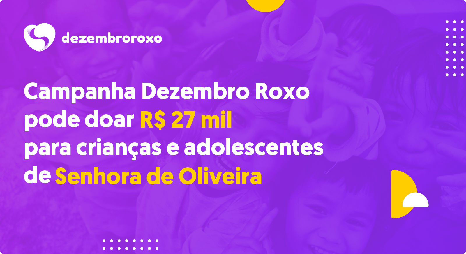 Doações em Senhora de Oliveira - MG