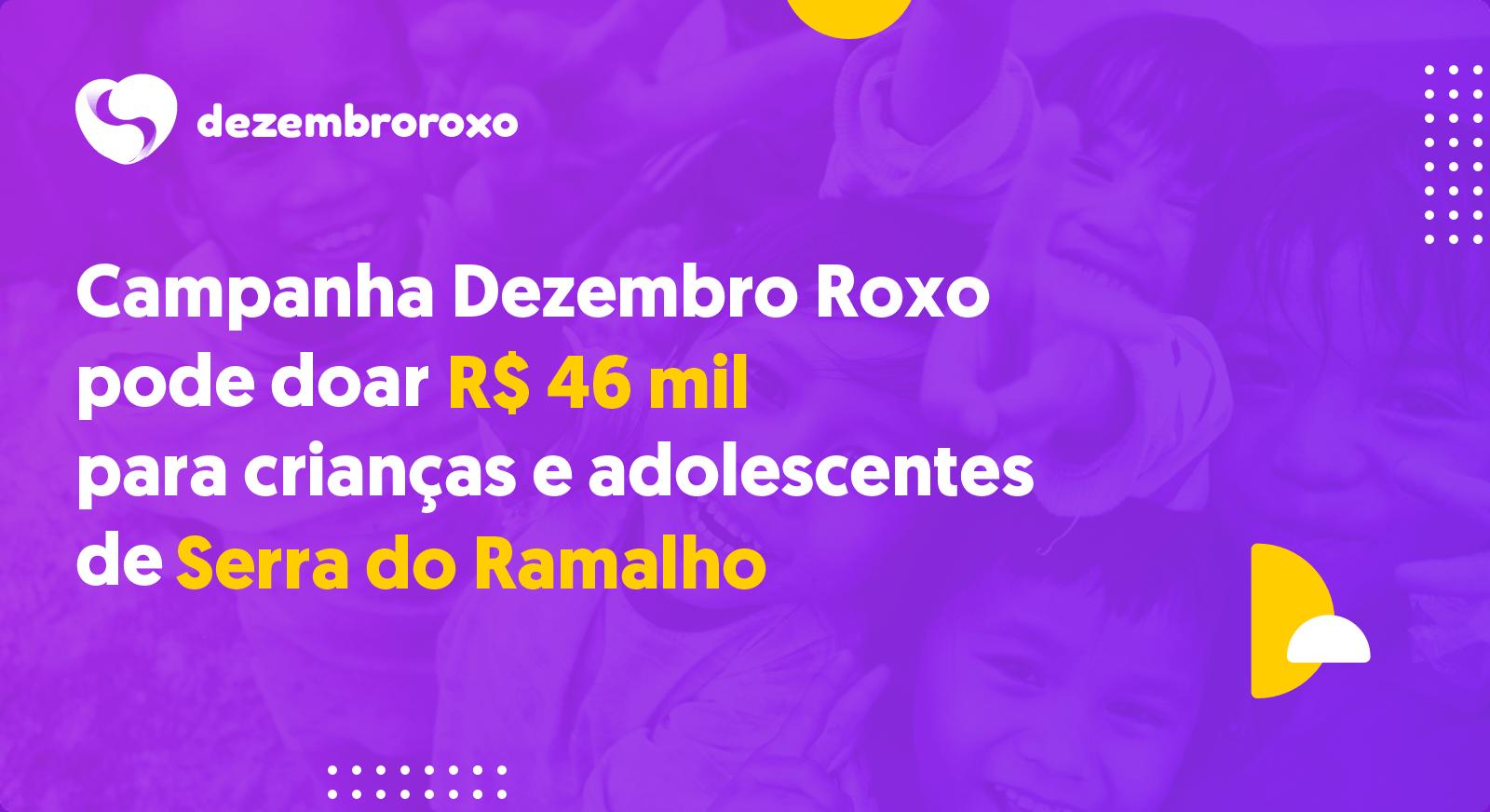 Doações em Serra do Ramalho - BA