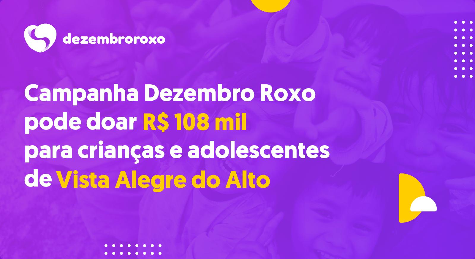 Doações em Vista Alegre do Alto - SP