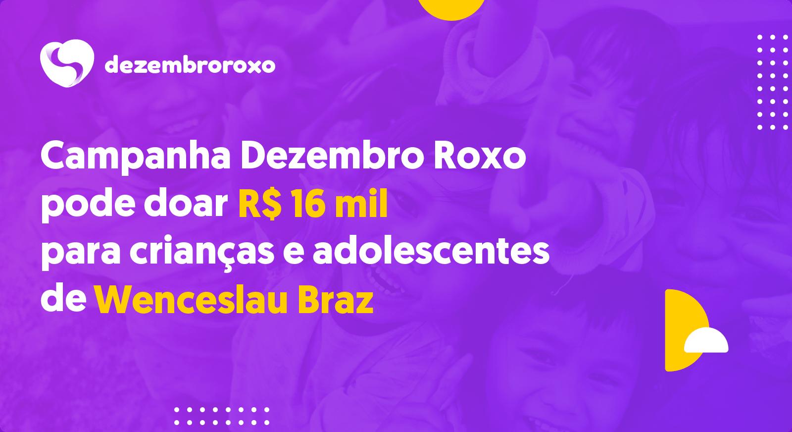 Doações em Wenceslau Braz - MG